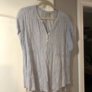 Lucky brand pale blue top